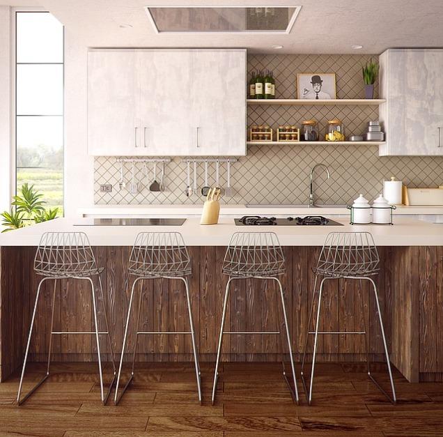 modern kitchen, rustic kitchen, simple kitchen, white kitchen cabinets, interior designers in MA