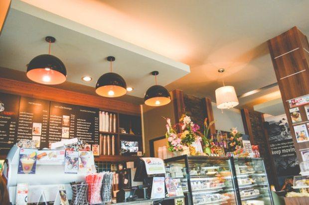 cafe charm, cafe design, espresso bar design, interior designer in MA