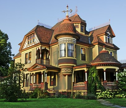 Victorian home, restored homes, historic home, painted ladies