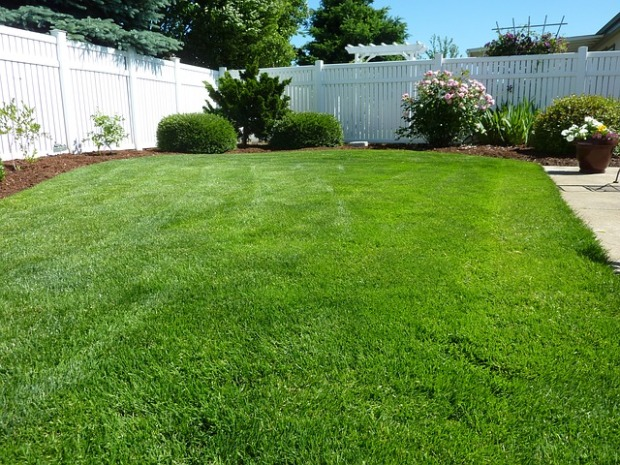 maintenance free fencing, healthy lawns, landscaping, privacy fence