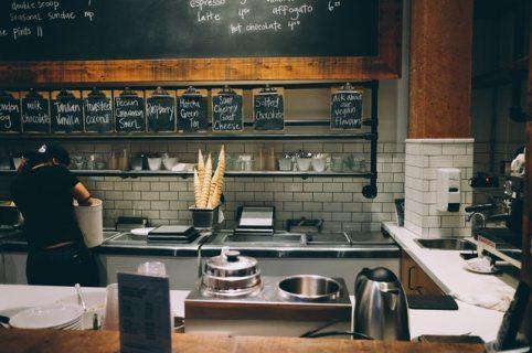 ice cream parlor, cafe, vintage charm restaurants