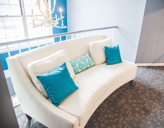 house staging, home staging ideas, turquoise decor, real estate