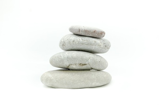 minimalism, living simply, meditation, stacking stones, serenity, calmness